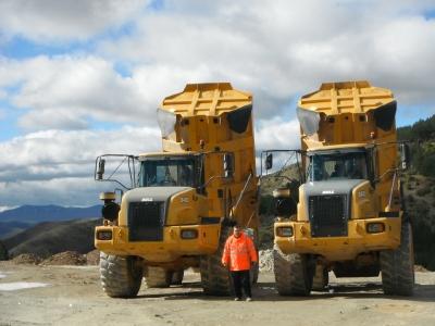 Maquinaria pesada de Minería
